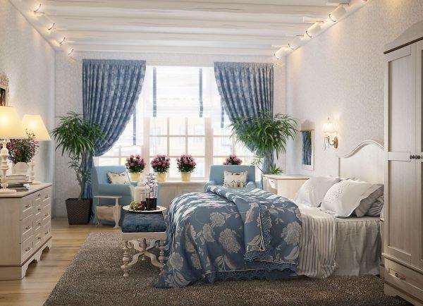 Полезные цветы в спальне