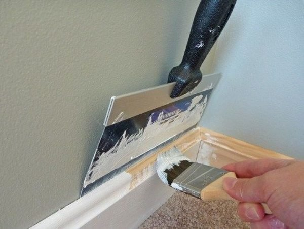 Защита стен при покраске