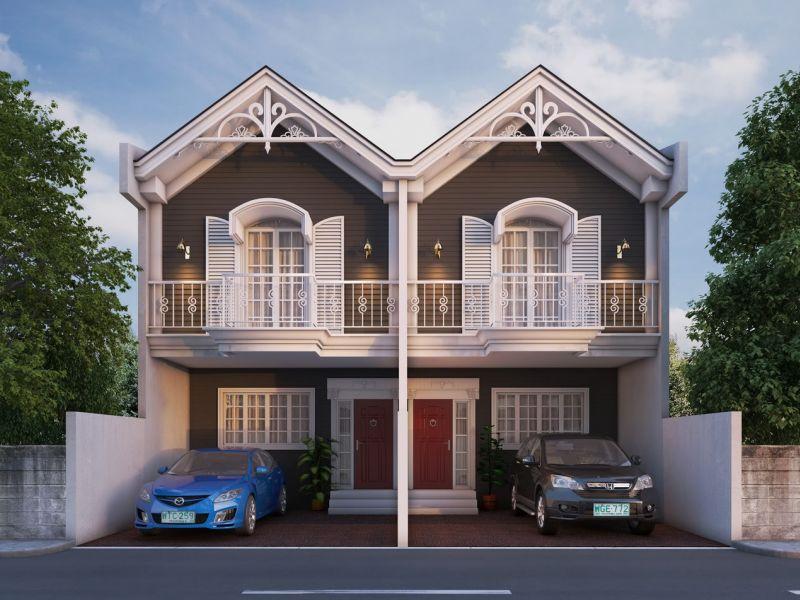 10 вариантов домов на 2 семьи (фото)