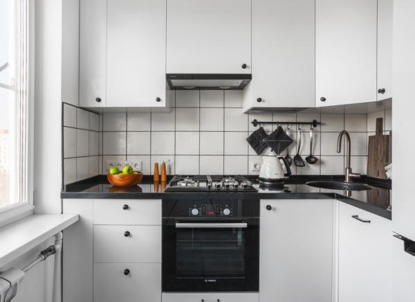 ремонт кухни в хрущевке без перепланировки