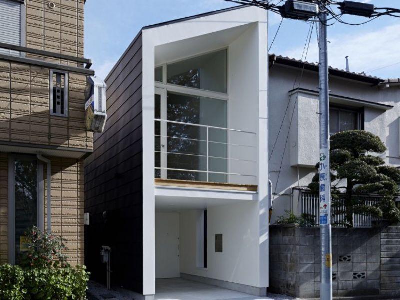 Проекты домов на длинном узком участке: фото
