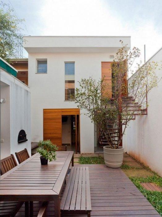 проекты домов на длинном узком участке
