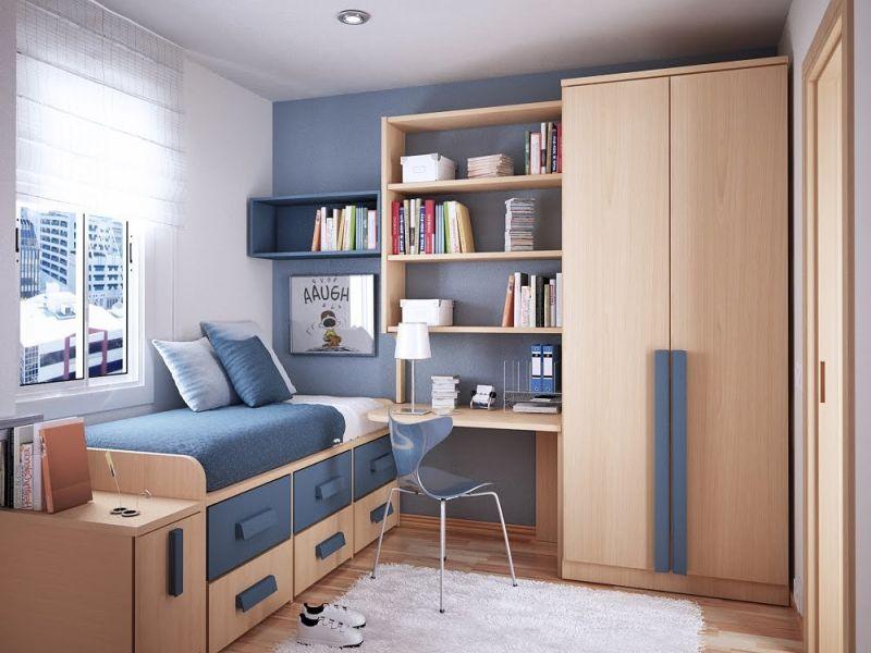 Оптимизация пространства в маленькой детской комнате