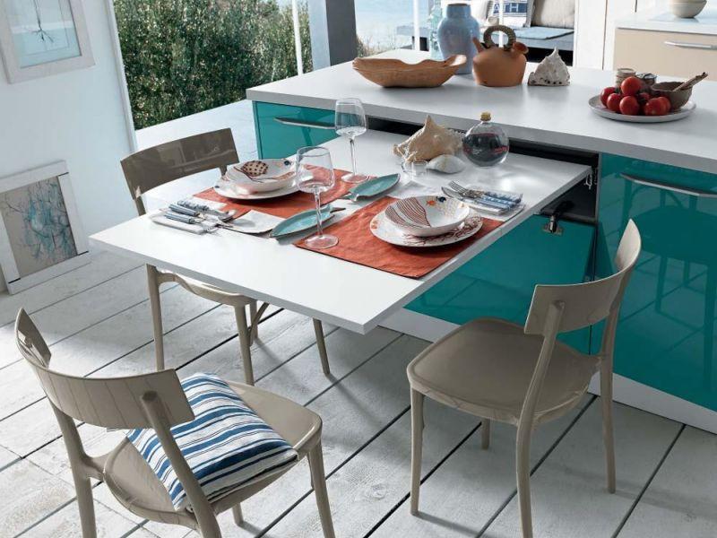 Какой стол выбрать для маленькой кухни: круглый или квадратный