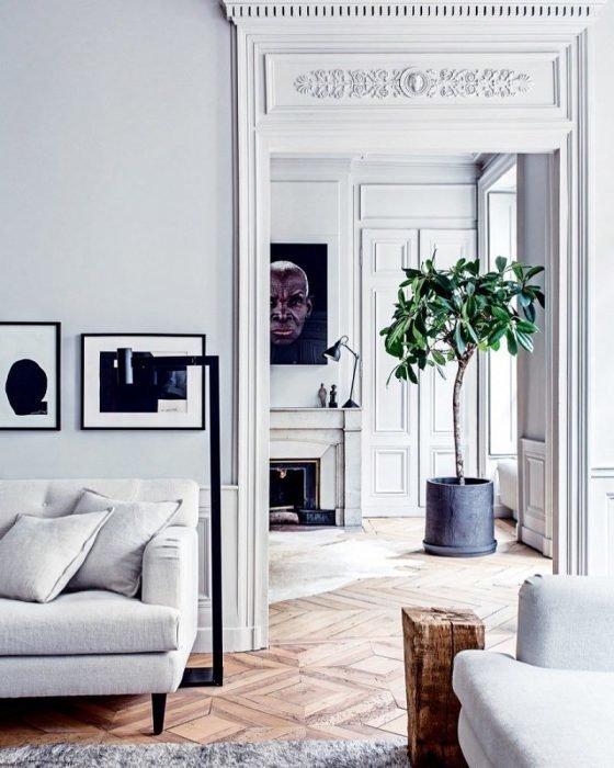 квартиры в париже интерьер
