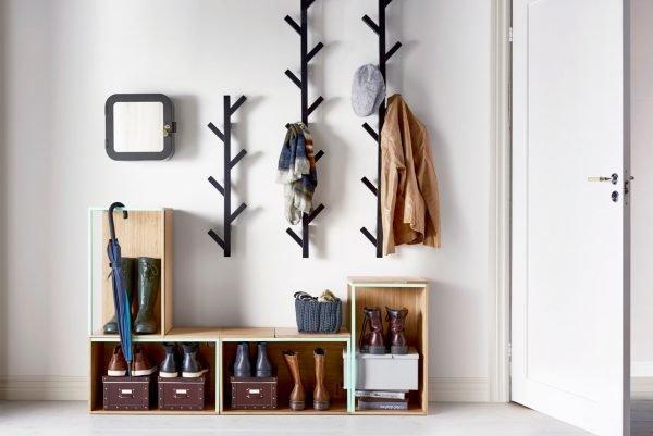 Креативная вешалка для одежды