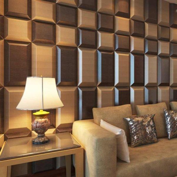 Объёмные стеновые панели