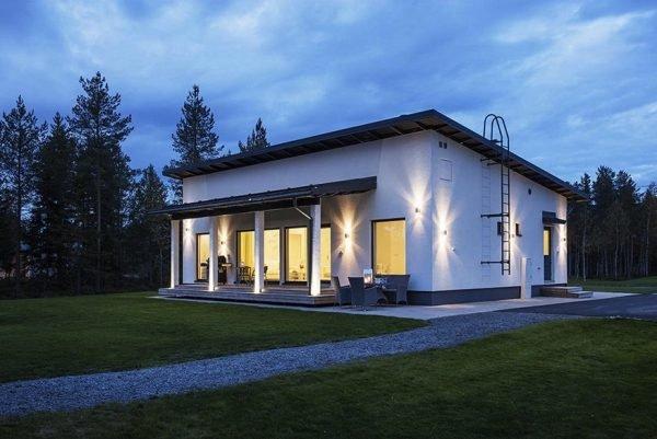 Проект одноэтажного дома до 60 кв. м