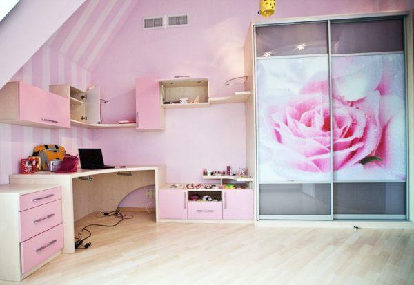шкаф в комнату девушки