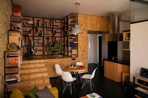 необычные маленькие квартиры