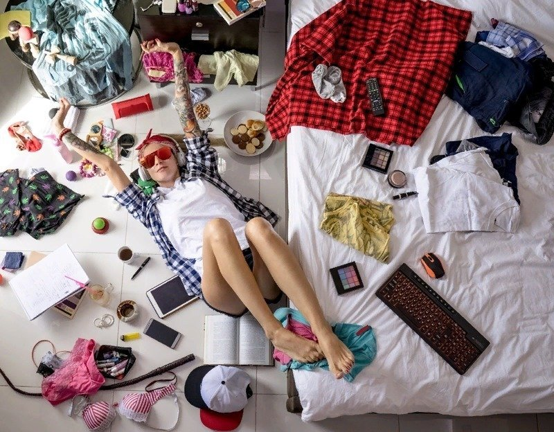 6 скрытых психологических проблем, которые выдает беспорядок в доме